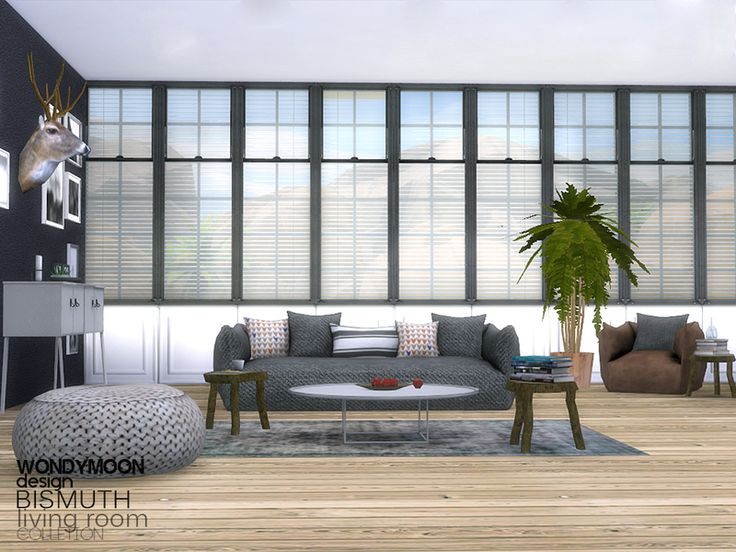 Bismuth Living Found In TSR Category U0027Sims 4 Living Room Setsu0027