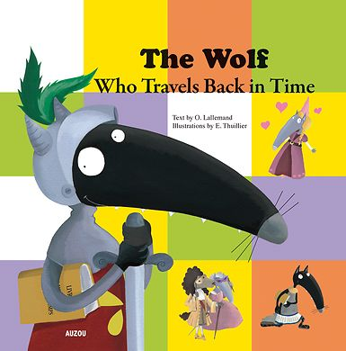One day, the Wolf discovers something incredible: a book that allows him to travel in time! He travels from the time of the dinosaurs to Casear's era, and even to the moon! What will the Wolf discover during this journey through history?