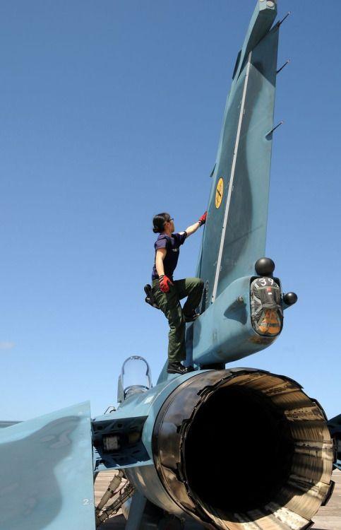 """eyestothe-skies: """" Mitsubishi F-2 """""""
