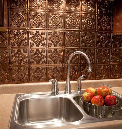 1000 ideas about backsplash panels on pinterest tin tiles faux brick backsplash and - Kitchen backsplash panel ...