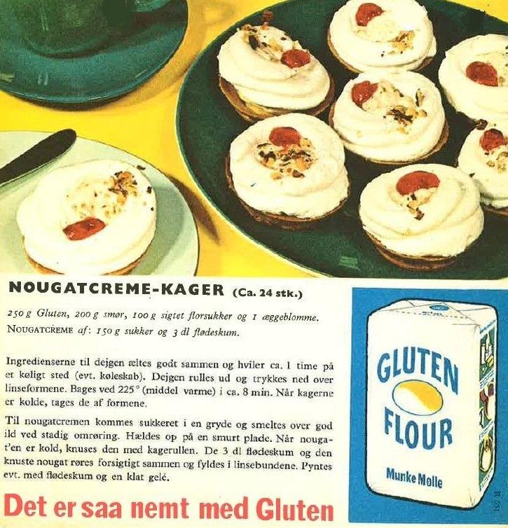 Nougatcreme-Kager ( ca. 24 stk. )...