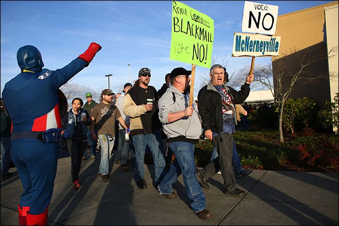 Boeing: No more negotiating with machinists union until 2016