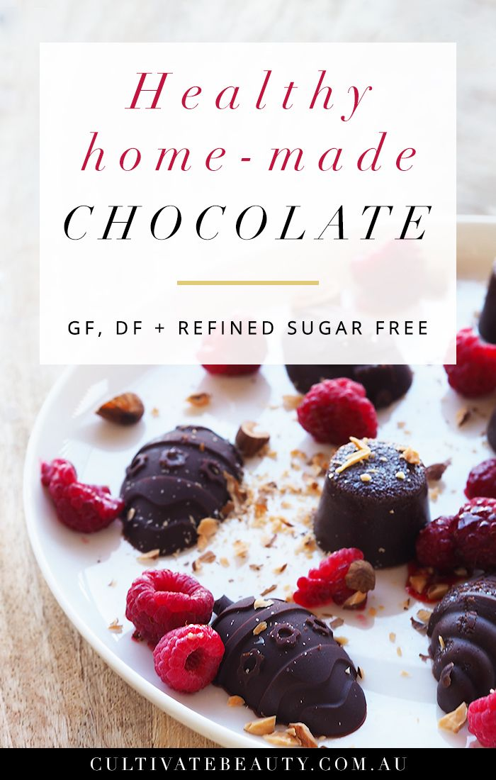 Healthy Paleo Chocolates (GF, DF + Refined Sugar Free!)