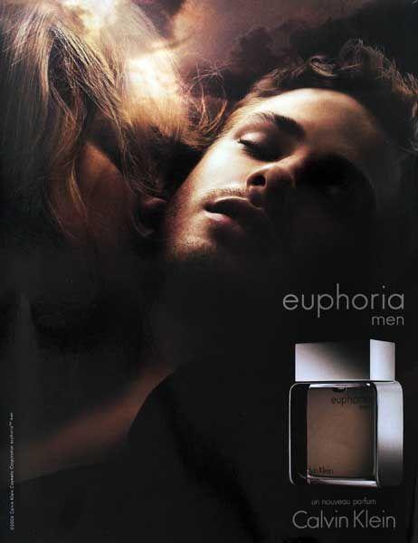 Publicité du parfum Euphoria men (2006) de Calvin Klein