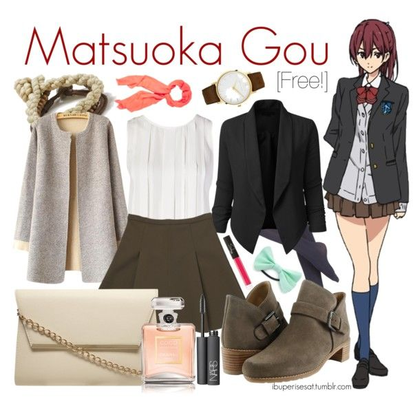 Matsuoka Gou [Free!] by anggieputeri on Polyvore