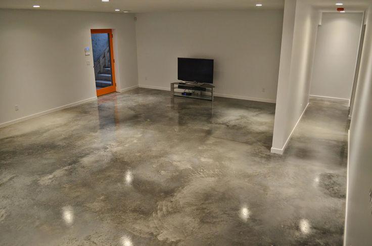 656 best images about decorative concrete on pinterest for Modern concrete floor