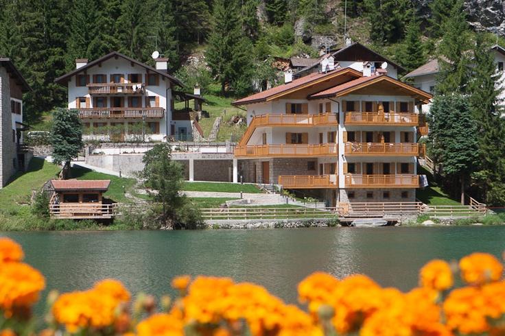 Villa Edelweiss #dolomites#lake