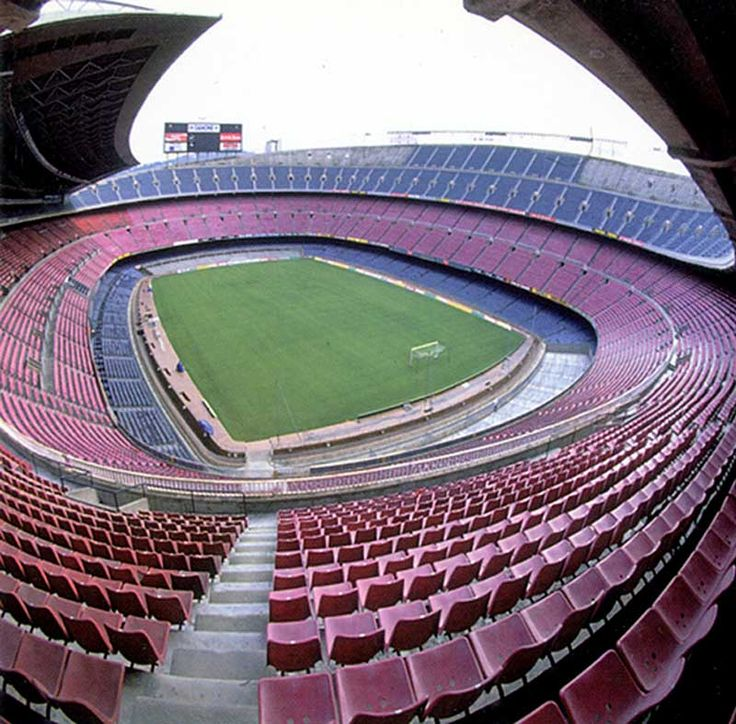 Nou Camp in Barcelona, amazing place.