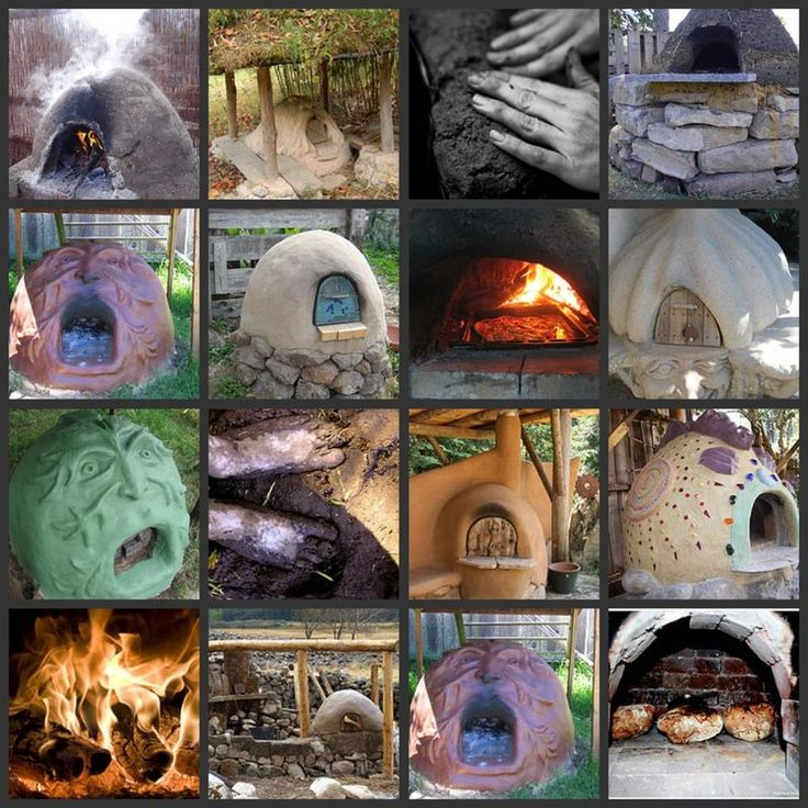 Cob Ovens. Cooking outdoors in summer reduces cooling costs and electricity use.