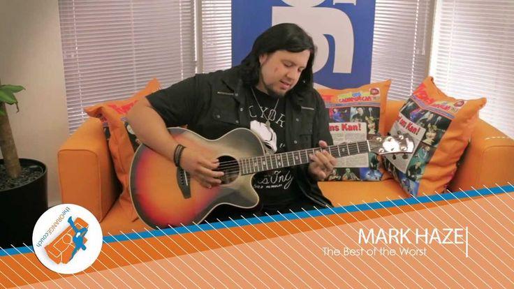 Orange Couch - Mark Haze