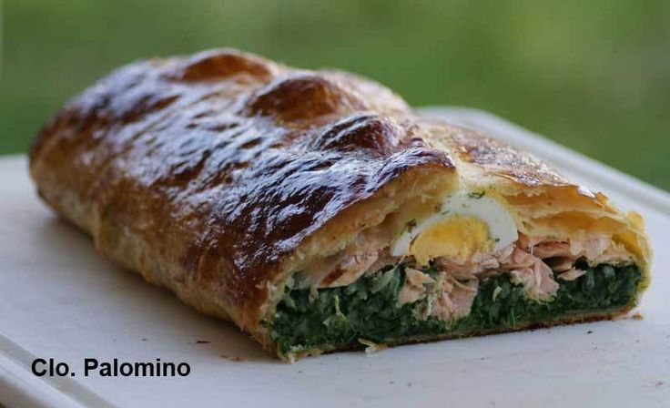 Koulibiac saumon/épinard