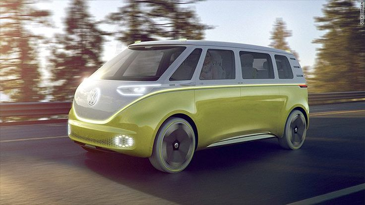 Volkswagen Is Releasing A New Electric Version Of Its Iconic Retro Bus