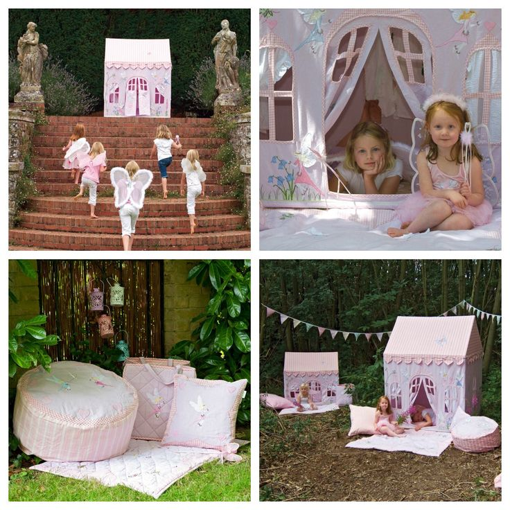 Do you believe in #fairies at the bottom of the garden? Make a wish and have hours of fun #playing in our pretty pink and lilac Fairy Cottage. Our gorgeous range of #playtents and #playhouses for boys and girls can be bought at http://www.petit.com.au  #WinGreen #kids #kidsplaytime #play #kidstents #purecotton #petitaustralia #freedelivery #wholesale #retail #orderonline