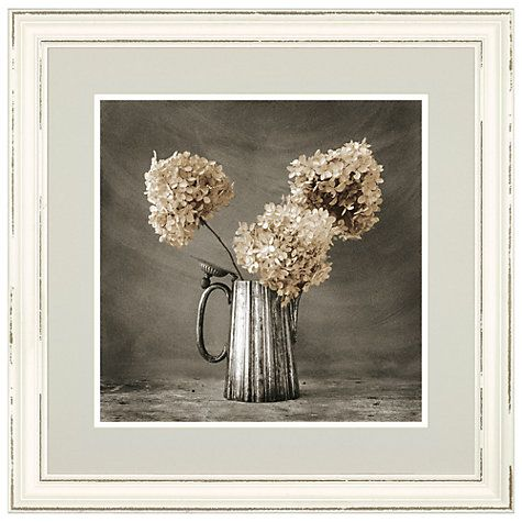 Buy Maison Hydrangeas Framed Print, 65 x 65cm Online at johnlewis.com