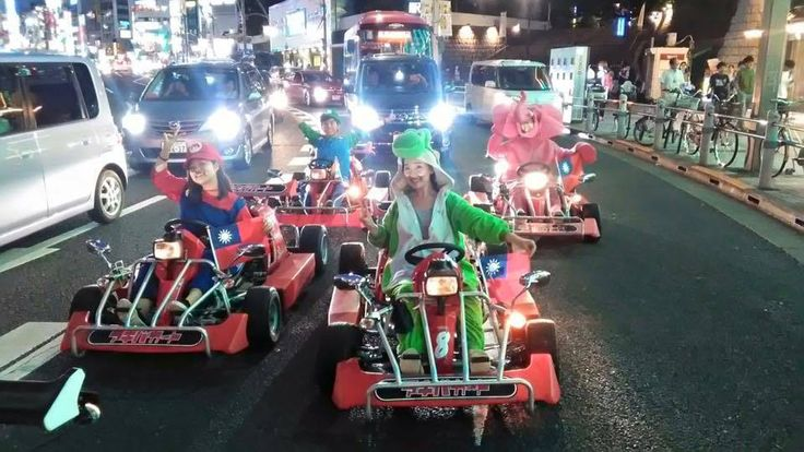 Rent go-karts and ride around Akihabara! You can dress up in costumes and discover driving through Akihabara, the Otaku paradise of Tokyo!  ※ You must have a Japanese drivers licence, Japanese SOFA licence, or an International Drivers Permit ※