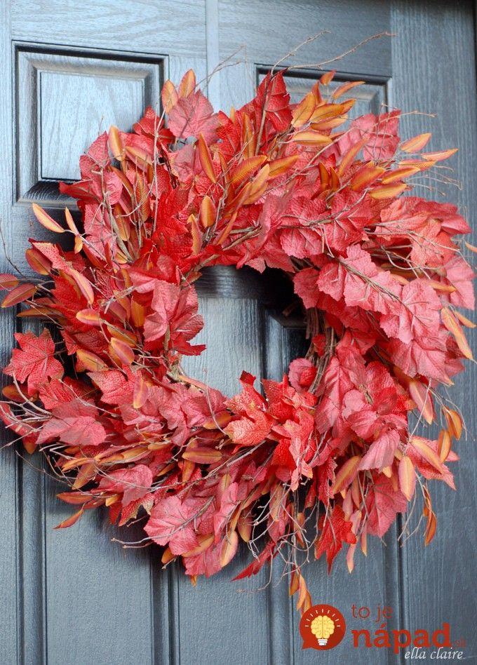 Nádherné inšpirácie na krásne vence, ktoré hlásajú farebný čas jesene, bohatej úrody a rodinnej pohody. Prinášame vám 17 inšpirácii na krásne vence, ktoré si môžete zhotoviť z vrecoviny, alebo prírodných materiálov, ktoré nazbierate pri prechádzke jesennou prírodou. 1. 2. 3. 4. 5. 6. 7. 8. 9. 10. 11. 12. 13. 14. 15. 16. 17.
