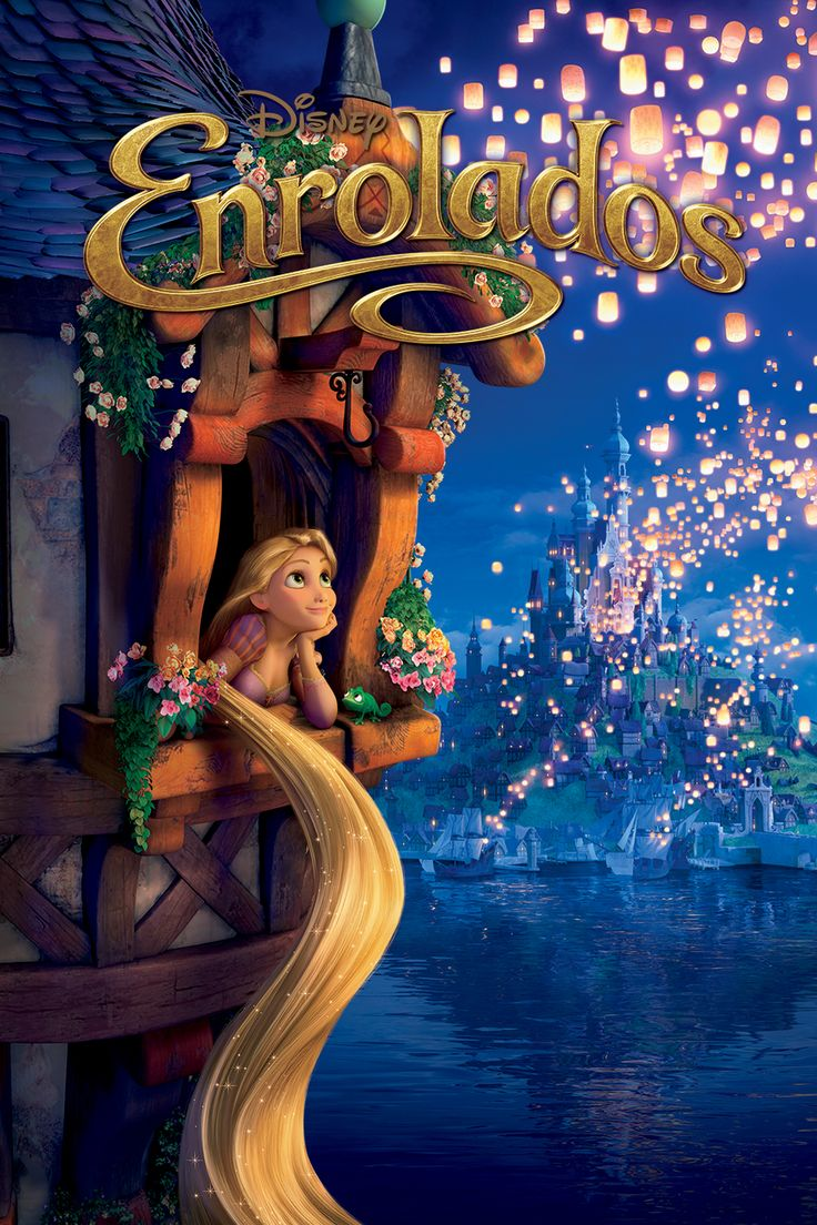13+Disney+Movie+Posters+From+Around+the+World Tangled