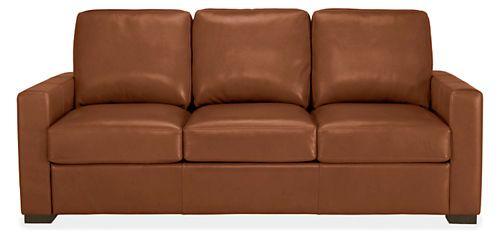 Berin Leather Day & Night Sleeper Sofas - Sleeper Sofas - Living - Room & Board