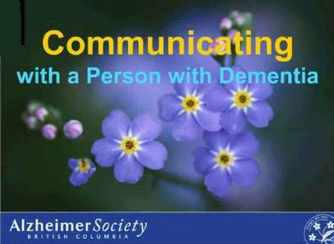 explian how individuals with dementia communicate Ct244: understand the role of communication and interactions with individuals who have dementia 11: explain how individuals with dementia may communicate through their behavior individuals.
