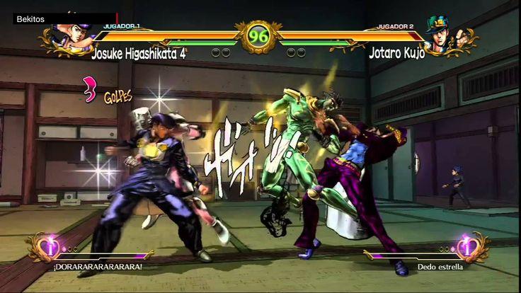 JoJo All Star Battle Semi Final 1 - Anime Expo 2015 - Esteban (1P) vs Ma...