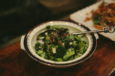 Raw Herby Broccoli Salad