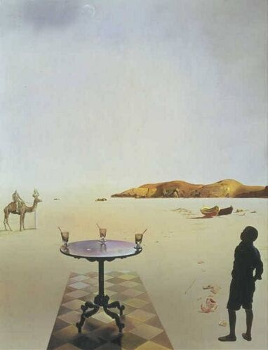 Salvador Dalí / Table Solaire / 1936