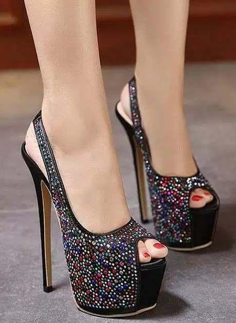 b3ed66bfca Footwear Stylish High Heel Shoes 2018 | Women's shoes | Shoes, Heels ...
