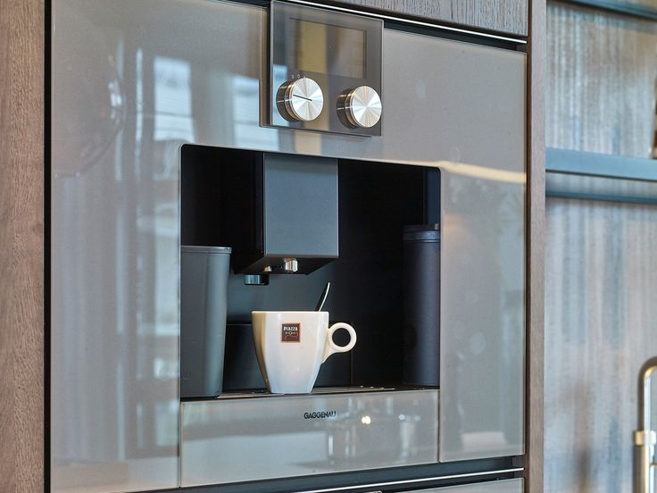 Dit koffiezetapparaat van Gaggenau is een echte aanwinst voor je keuken. Wat een prachtige machine!