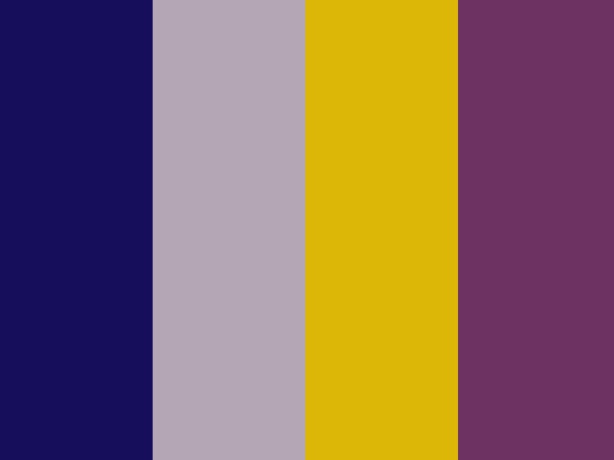 """Mauvelous"" by jamfelton. gray, mauve, mustard, navy, purple"
