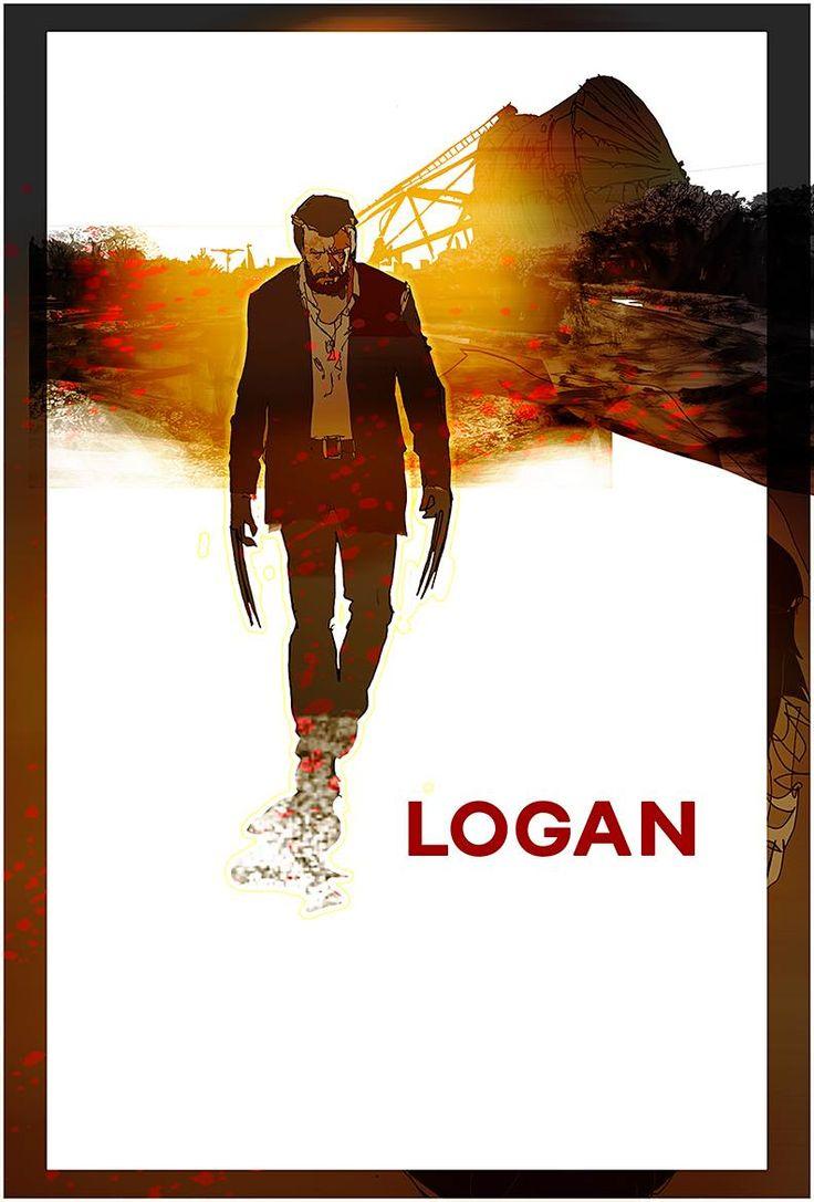 Logan: unused concept art by Bill Sienkiewicz *