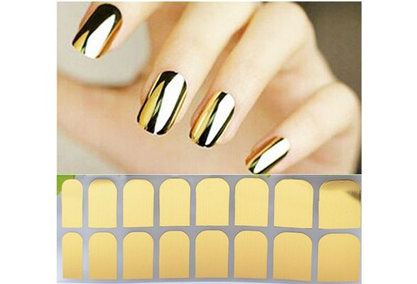 Texture Gold Metal Nails All Post (Color: Gold) $3 USD #wish #onlineshopping #shoppingmadefun #fashion #gift #creativeliving #householdgoods #homedecor #home