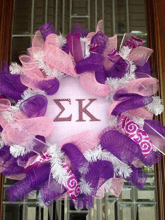 Sigma Kappa Wreath Home Pinterest Sigma Kappa