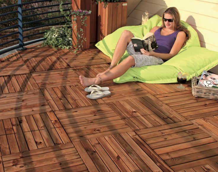Houten terrastegels supersnel een fraaie houten terras leggen kies bij houthandel gadero uit - Bedek een houten terras ...