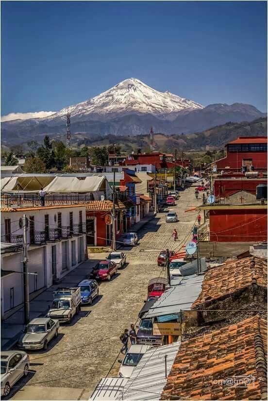 Pico de Orizaba desde Coscomatepec