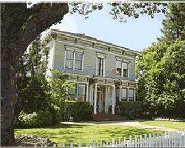Honor Mansion, Sonoma    (Favorite bed and breakfast ever!)