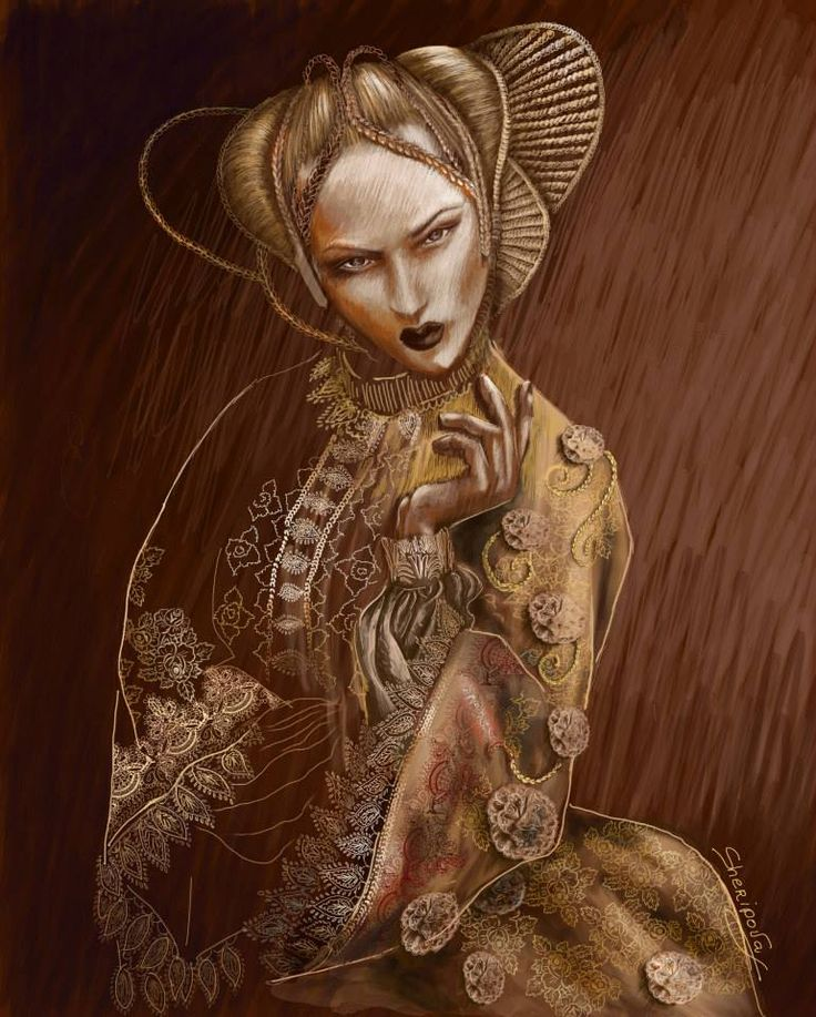 #fashion illustrations #fashion #moda #elina #sheripova #art