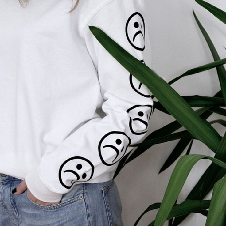 Sad Face Sweater