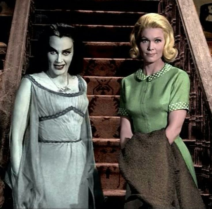 Lily Munster & Marilyn Munster