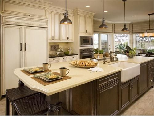 45 Best Kitchen Islands Images On Pinterest Kitchen