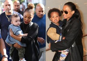 Who knew that these ladies were friends? Well, super stars, Janet Jackson and Ciara, took their sons out on an ultimate play date to Disneyland. How cute! On Tuesday, the two singers enjoyed quality time with their favorite men. Jackson's 9-month-old son Eissa Al Mana along with  Ciara and her 3-yea