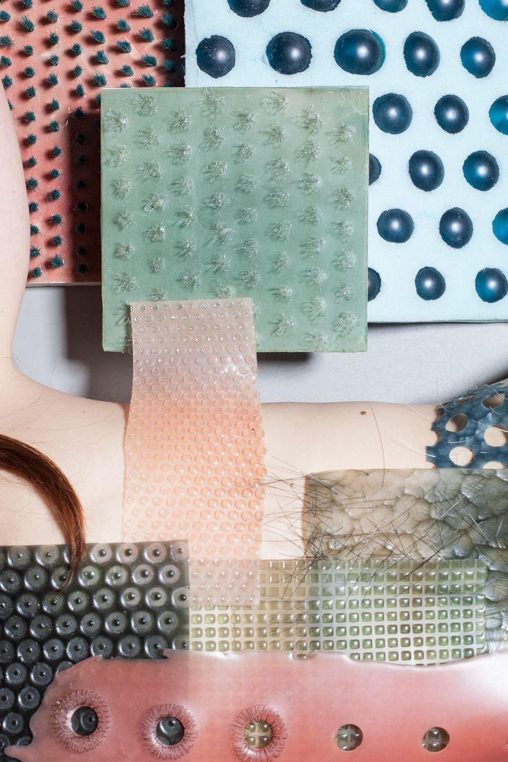 Imprint of Skin by Floor van Doremalen is part of Design Academy Eindhoven's tactile exhibition in Milan