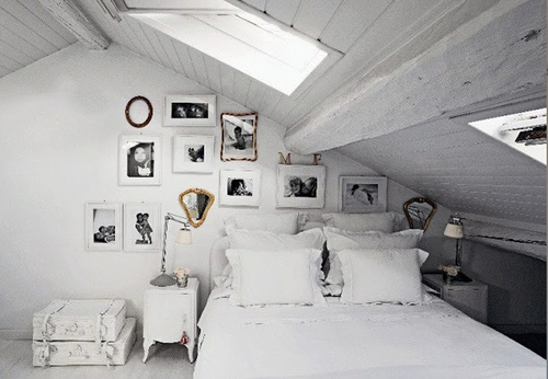 Attic rooms with character make perfect #bedandbreakfast rooms