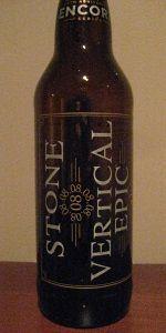 20th Anniversary Encore Series 08.08.08 Vertical Epic Ale