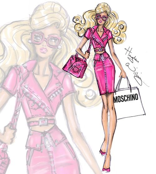 'Moschino Barbie' by Hayden Williams| Be Inspirational❥|Mz. Manerz: Being well dressed is a beautiful form of confidence, happiness & politeness
