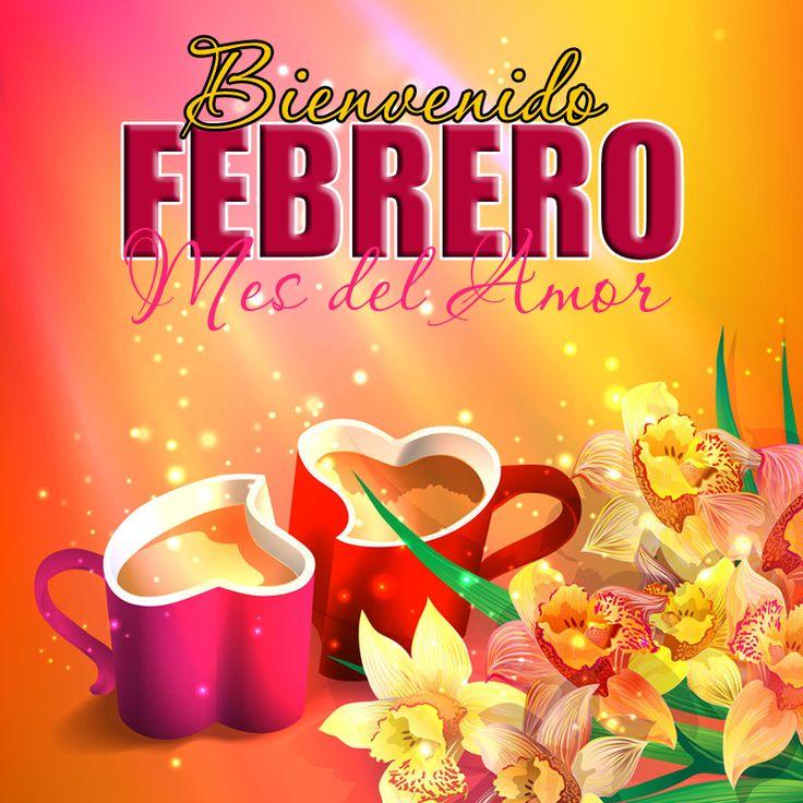 Adiós Enero, ¡ Bienvenido Febrero (Mes del Amor) ! Con estas hermosas postales que incluyen rosas, tulipanes, corazones y mensajes  queremos...