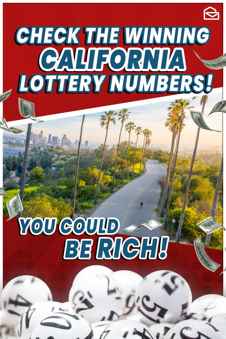 California lottery results lottery lottery results