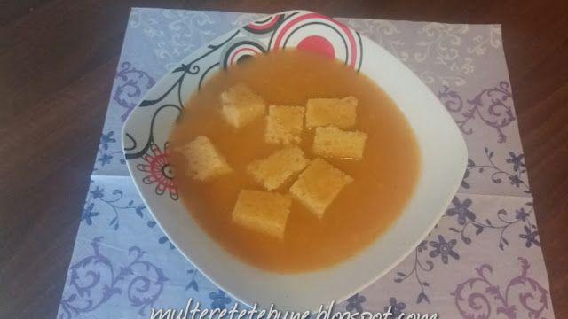 RETETE: Supa de chimen