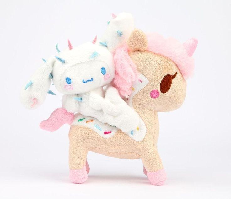 Hello Kitty Tokidoki Blanket: Sanrio Authentic Hello Kitty Cinnamoroll Unicorn Plush