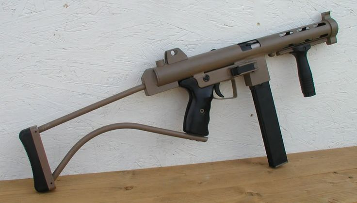 Here is a 9mm SMG made by Innovative Arms which was built primarily for testing the effectiveness of their suppressor designs on this type of weapon. Like many utilitarian tubeguns It fires from an open-bolt with a fairly high cyclic rate and also accepts 9mm British STEN magazines. It features a sturdy fixed skeleton stock, …   Read More …