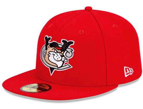 Tri-City ValleyCats Authentic Home 59Fifty Fitted Cap by NEW ERA x MiLB